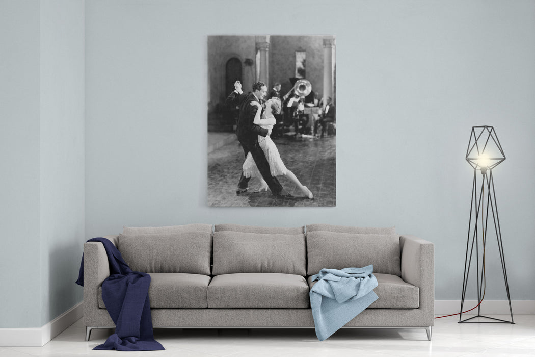 DANCE TEAM Canvas Wall Art Print
