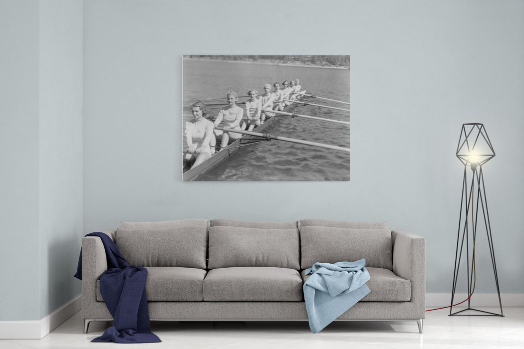 CREW TEAM Canvas Wall Art Print