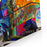 Abstract Digital Painting, Colorful Graffiti Collage Canvas Wall Art Print