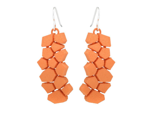 Voronoi Block (S) - Orange