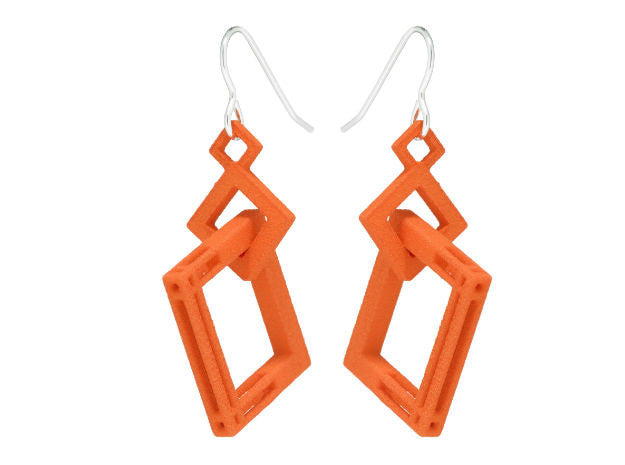 Solid to Structure Square (M) - Orange