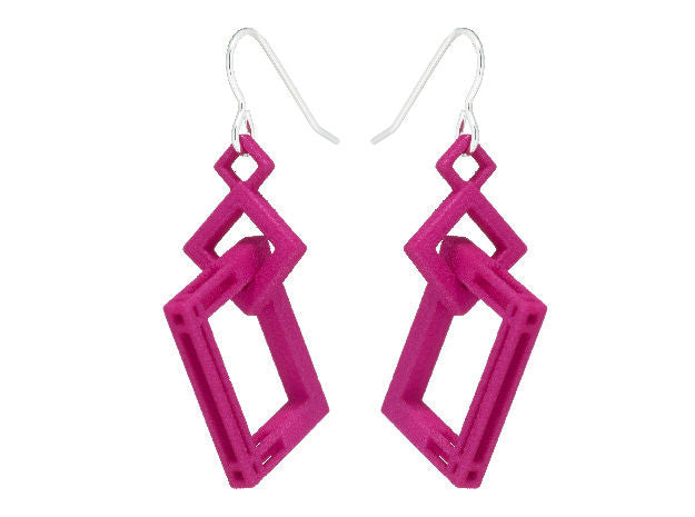 Solid to Structure Square (M) - Pink