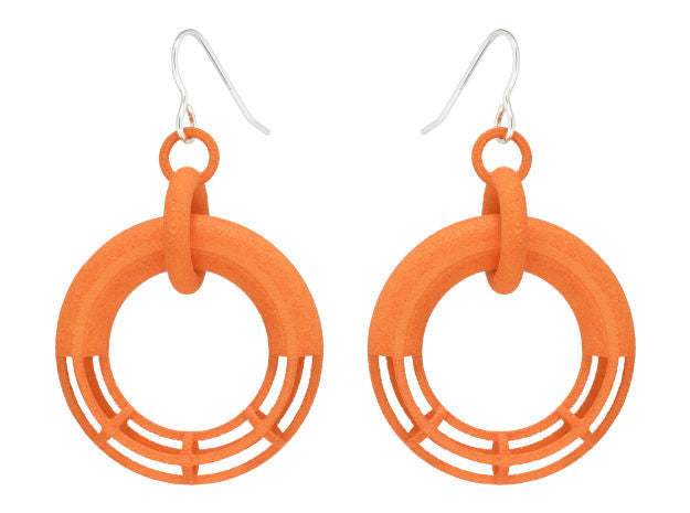 Solid to Structure Torus (M) - Orange