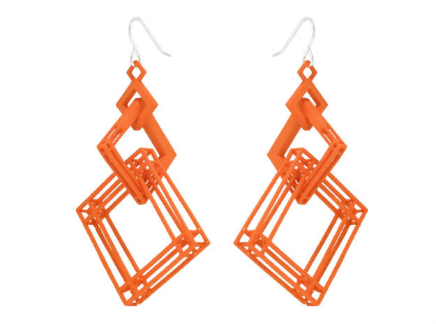 Solid to Structure Square (L) - Orange