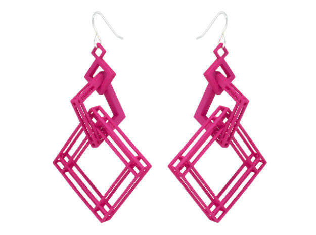 Solid to Structure Square (L) - Pink