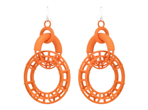 Solid to Structure Torus (L) - Orange