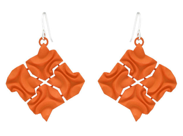 Tessellated Tiles (L) - Orange
