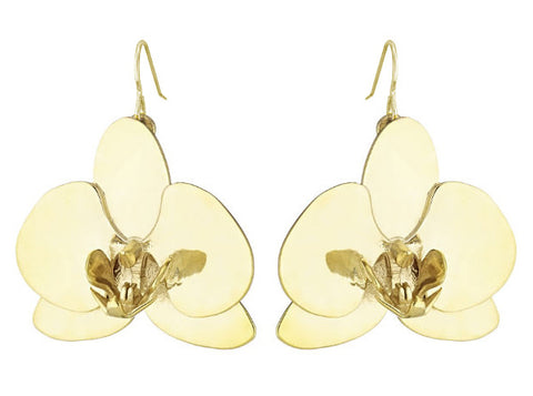 Orchid Flower - 18K Gold