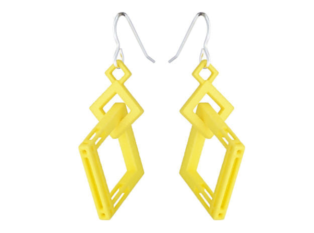 Solid to Structure Square (M) - Yellow