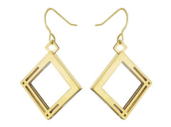 Solid to Structure Square (S) - 18K Gold