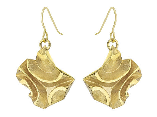 Tessellated Tile (S) - 18K Gold