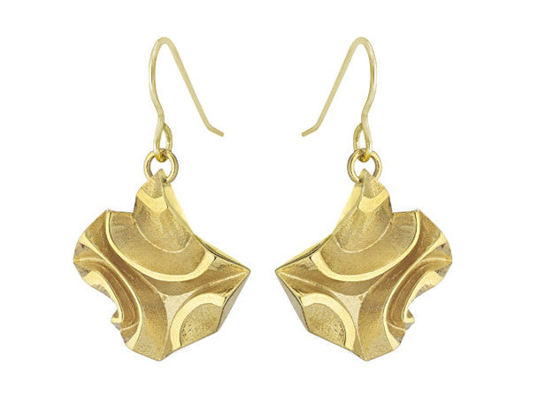 Tessellated Tile (XS) - 18K Gold
