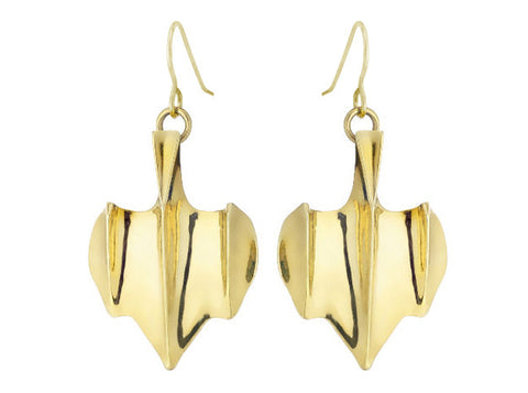 Shark Scale (S) - 18K Gold