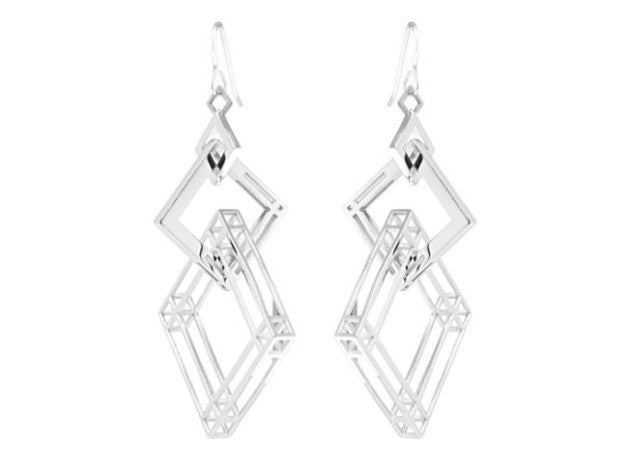 Solid to Structure Square (L) - Silver