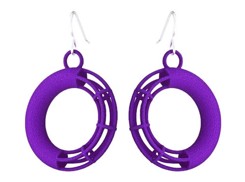 Solid to Structure Torus (S) - Purple