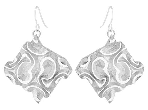 Tessellated Tile (L) - Silver