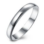 Load image into Gallery viewer, 3mm Plain Sterling Silver Wedding Bridal Band Ring Ginger Lyne Collection