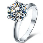 Load image into Gallery viewer, 7mm 6 prong Engagement Ring - Ginger Lyne Collection