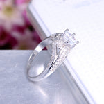 Load image into Gallery viewer, Babs Exquisite Bridal Engagement Ring Ginger Lyne Collection