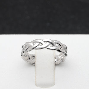 Belinda Infinity Twisted Anniversary Wedding Band Ring Ginger Lyne Collection