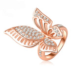 Load image into Gallery viewer, Butterfly High Fashion Ring Ginger Lyne Collection