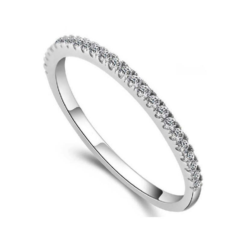 Caroline Beautiful Anniversary Wedding Band Ring - Ginger Lyne Collection