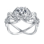 Load image into Gallery viewer, Deb Exquisite Bridal Engagement Ring- Ginger Lyne Collection Size 10
