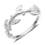 Load image into Gallery viewer, Ivy Sterling Silver Vine Band Ring Ginger Lyne Collection