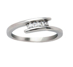 Load image into Gallery viewer, McKenna 3 Stone Anniversary Wedding Ring - Ginger Lyne Collection