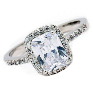 Moniqu Beautiful Engagement Ring AAA CZ - Ginger Lyne Collection