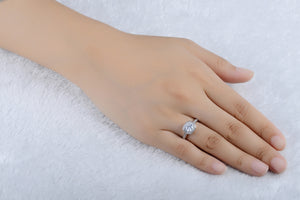 Renee Halo Engagement Ring - Ginger Lyne Collection