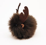 Randy the Reindeer Stuffed Animal Plush Toy side view.