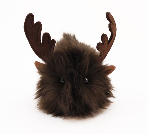 Randy the Reindeer Stuffed Animal Plush Toy front view.