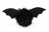 Fang the green eared black bat stuffed animal plush toy back view.