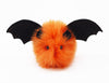 Luna the Orange Bat Stuffed Animal Plush Toy front view.