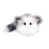 Buddy the grey and white cat stuffed animal plush toy large size front view.