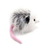 Penelope the Grey Opossum Stuffed Animal Plush Toy side view.