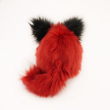 Poppy the Red Fox Stuffed Animal Plush Toy Back View