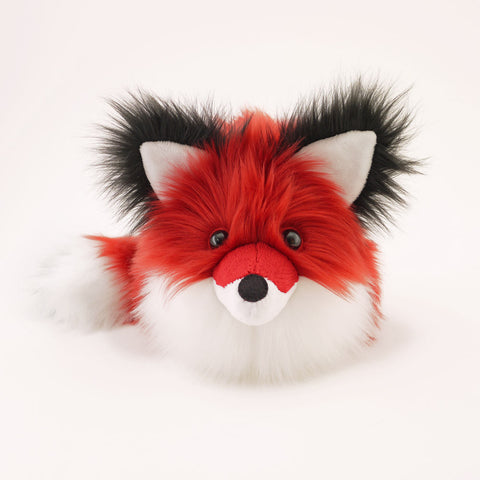 Poppy the Red Fox Stuffed Animal Plush Toy Front View