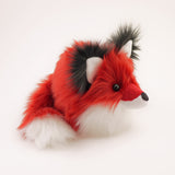 Poppy the Red Fox Stuffed Animal Plush Toy Side View