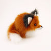 Rupert the Rusty Red Fox Stuffed Animal Plush Toy Side View