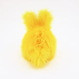 Sunny the Easter bunny plush toy, back view.
