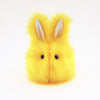 Sunny the Easter bunny plush toy, front view.