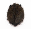 Beaver the brown guinea pig stuffed animal plush toy back view.