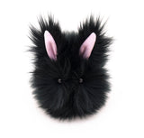 Blackie the Bunny stuffed animal plush toy front view.