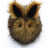 Rusty the Brown Bunny Stuffed Animal Plush Toy front view.