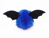 Jet the Dark Blue Bat Stuffed Animal Plush Toy back view.