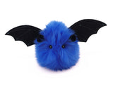 Jet the Dark Blue Bat Stuffed Animal Plush Toy front view.
