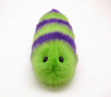 Mo the Snuggle Worm Stuffed Animal Plush Toy front view.