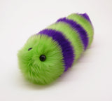 Mo the Snuggle Worm Stuffed Animal Plush Toy angled view.